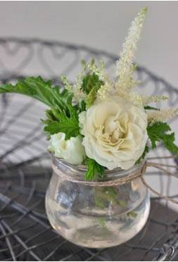 Zita Elze mini vase detail by Flowerona - Rona Wheeldon