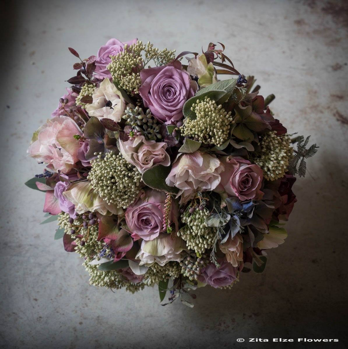 Zita Elze London photo: James Merrell_Bespoke Bouquet