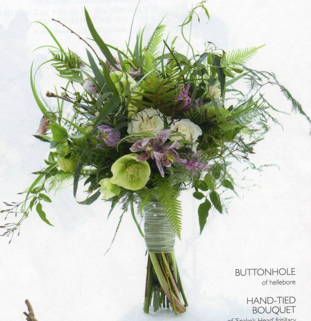 Wedding Flowers mj15 Zita Elze Hand-tied bouquet