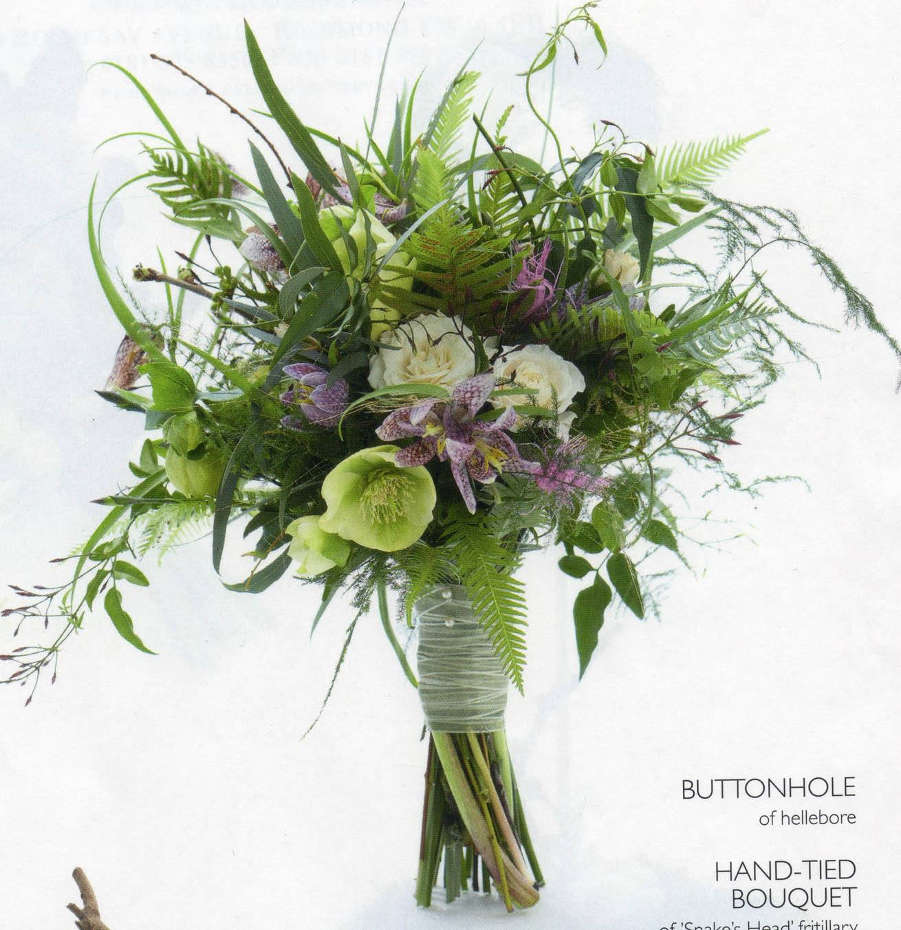 Wedding Flowers Mj15 Zita Elze Hand Tied Bouquet