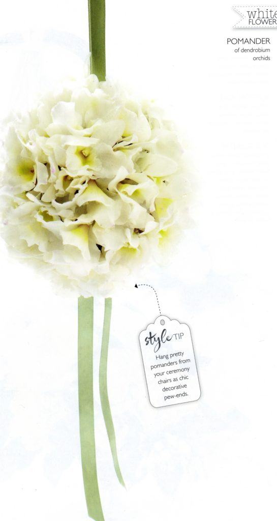 Wedding Flowers mj15 Zita Elze pomander