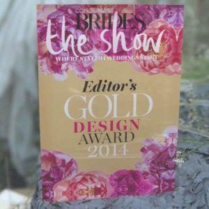 Brides The Show Award r