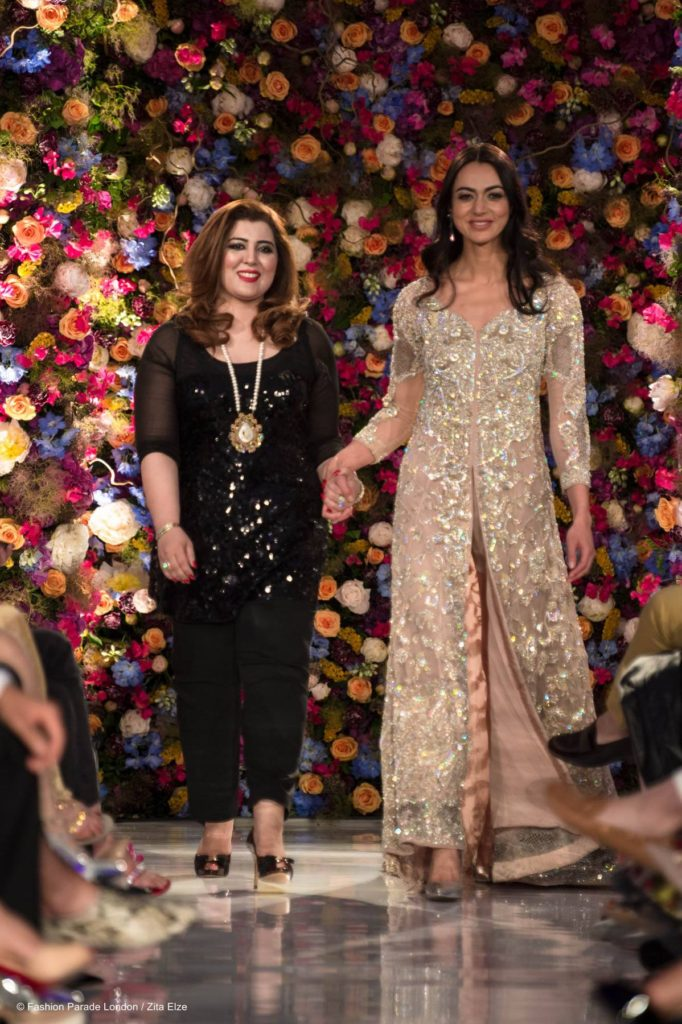 Zita Elze Zita Elze Flowers for Fashion Parade London at the Saatchi Gallery Rani Emaan_wm
