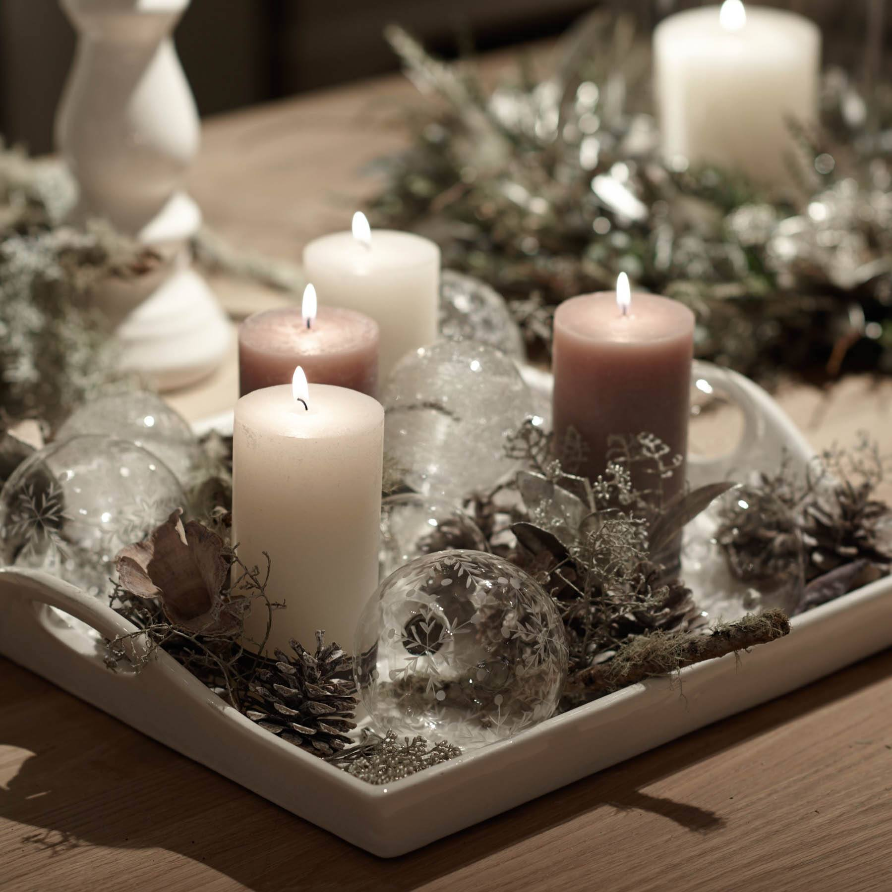 Christmas Floral Table Decorations