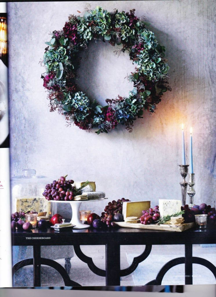Zita Elze Homes and Gardens Xmas 15 2
