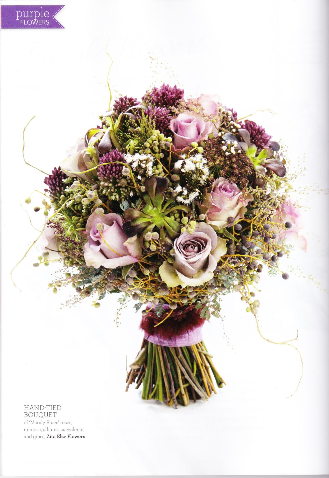 Flowers for the bride groom and attendants zita elze flowers take a look at the living embroidery page for further ideas for gowns and accessories izmirmasajfo