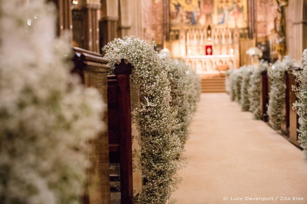 Zita Elze wedding flowers for Olivia and Benedict photo: Lucy Davenport KEW-046_wm