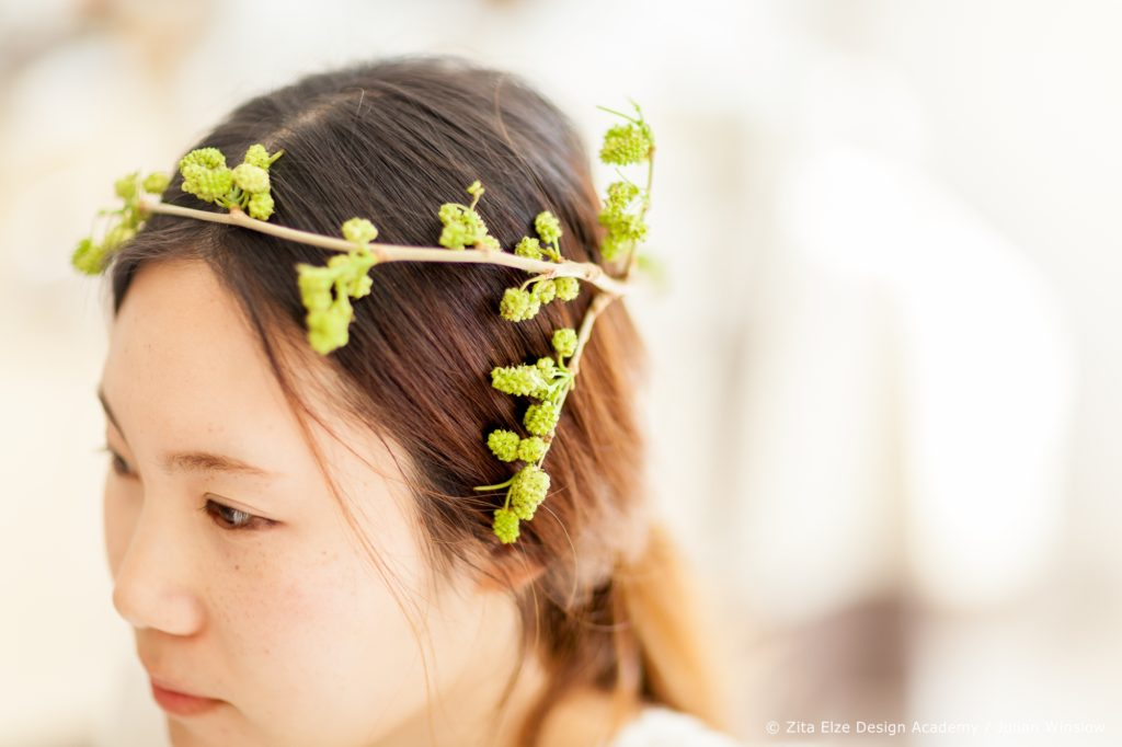 Zita Elze Design Academy Yejina Kim mulberry headband photo: Julian Winslow 6179_wm
