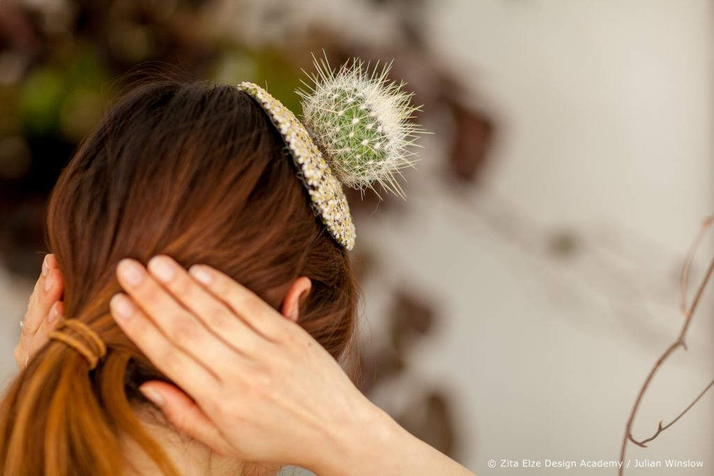 Zita Elze Design Academy Yejina Kim cactus head piece photo: Julian Winslow 6210_wm