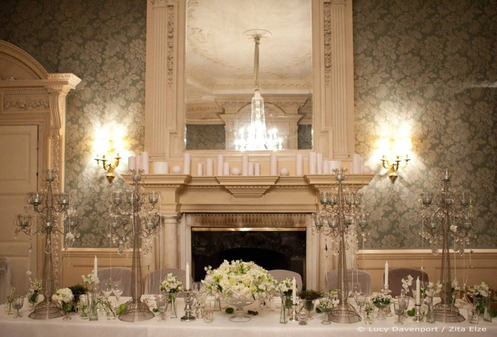 Zita Elze Wedding Flowers at Claridges Photo: Lucy Davenport 424 c_wm