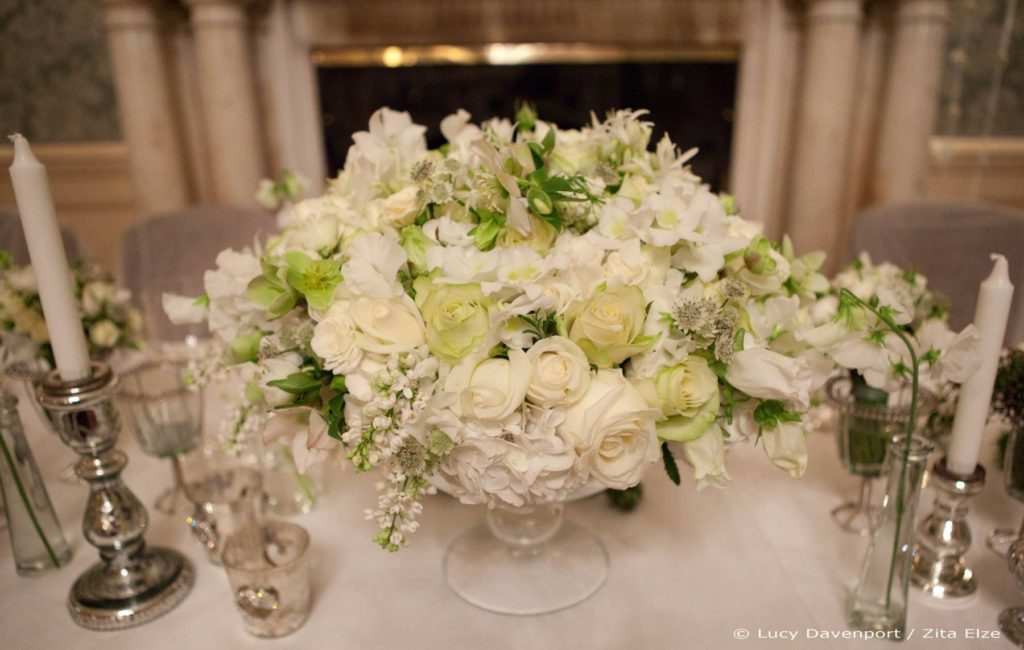 Zita Elze Wedding Flowers at Claridges Photo: Lucy Davenport 441 c_wm