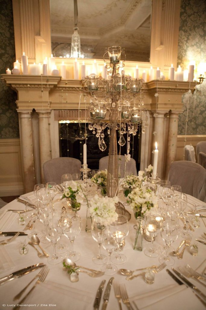 Zita Elze Wedding Flowers at Claridges Photo: Lucy Davenport 570 w_wm