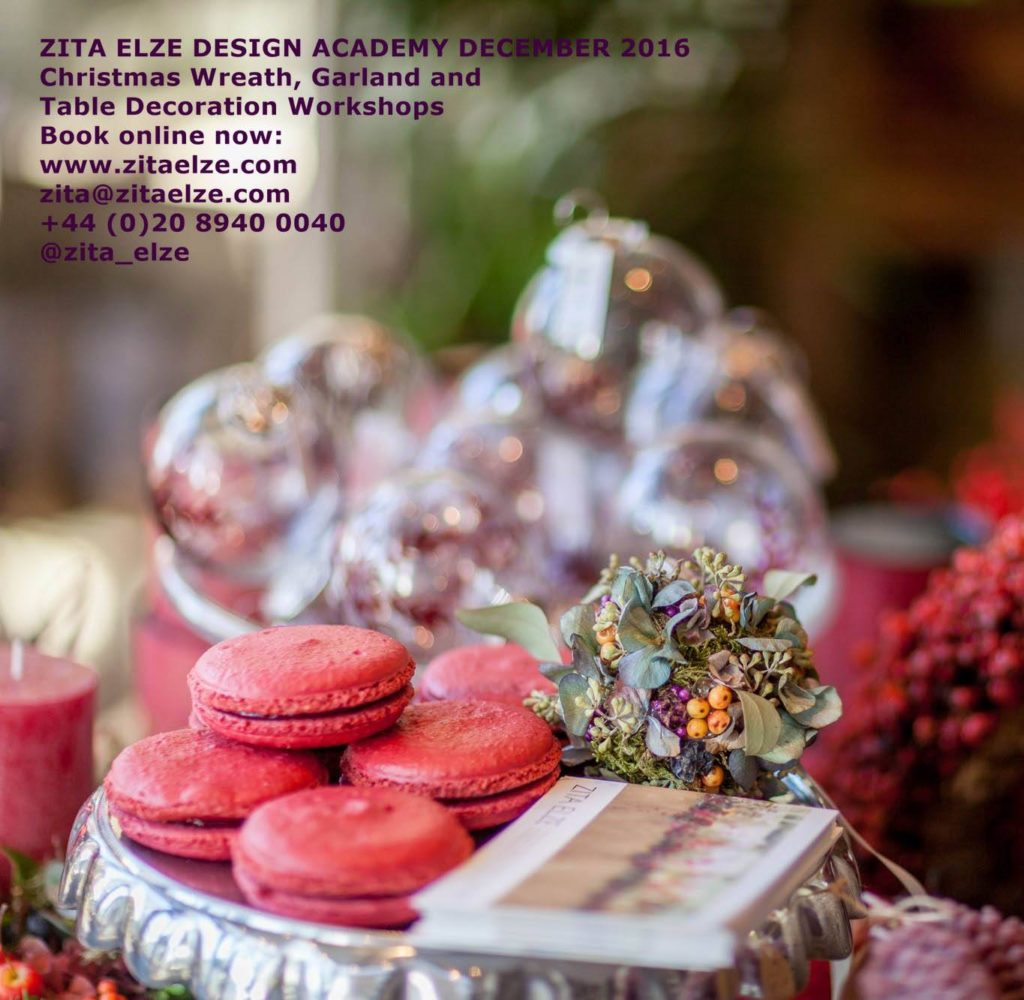 Zita Elze Christmas Workshops 2016