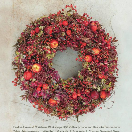 Zita Elze Christmas 2016 red wreath