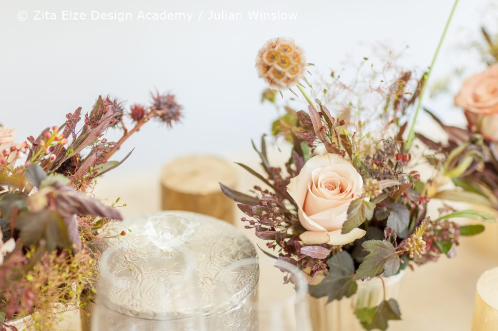 Zita Elze Design Academy Kwak Eun Seo Wedding Top Table Details Master Class photo: Julian Winslow