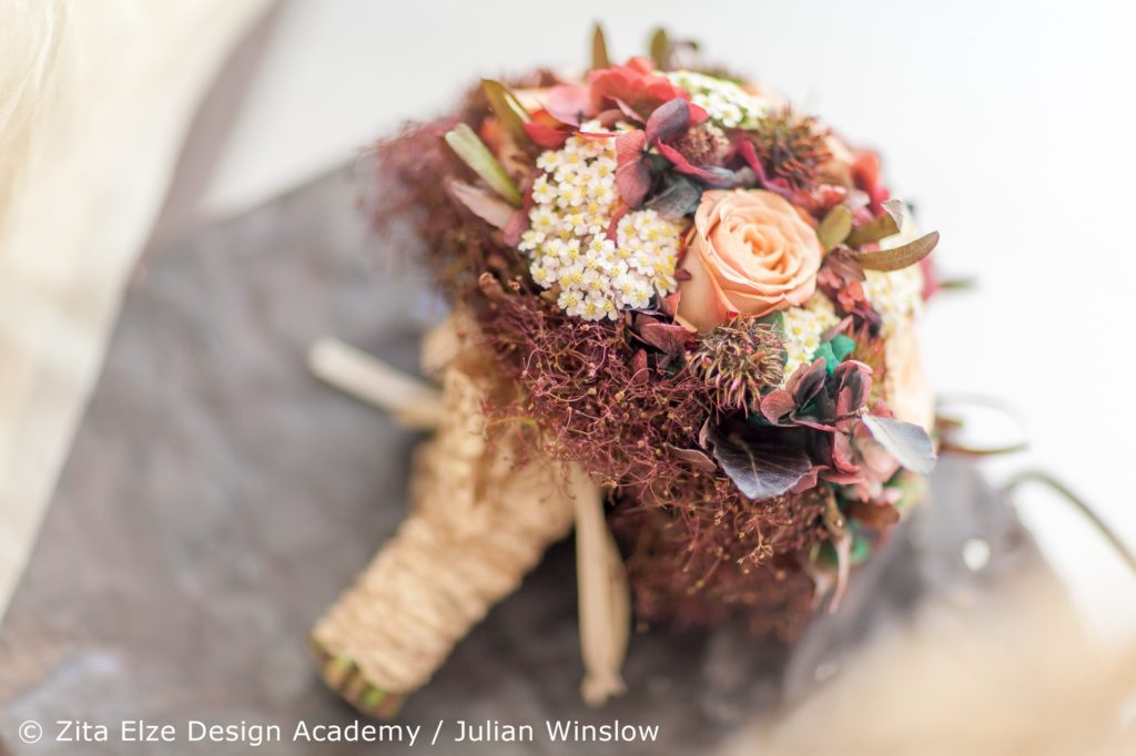 Zita Elze Design Academy Kwak Eun Seo delicate vintage bridal bouquet Wedding Master Class photo: Julian Winslow