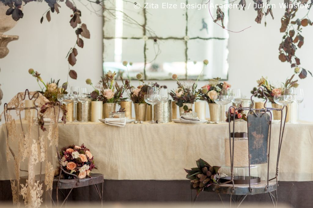 Zita Elze Design Academy Kwak Eun Seo Vintage Top Table design Wedding Master Class photo: Julian Winslow
