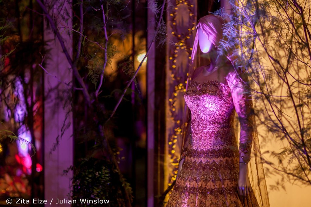 Zita Elze Flowers Aashni + Co Wedding Show at The Dorchester photo: Julian Winslow