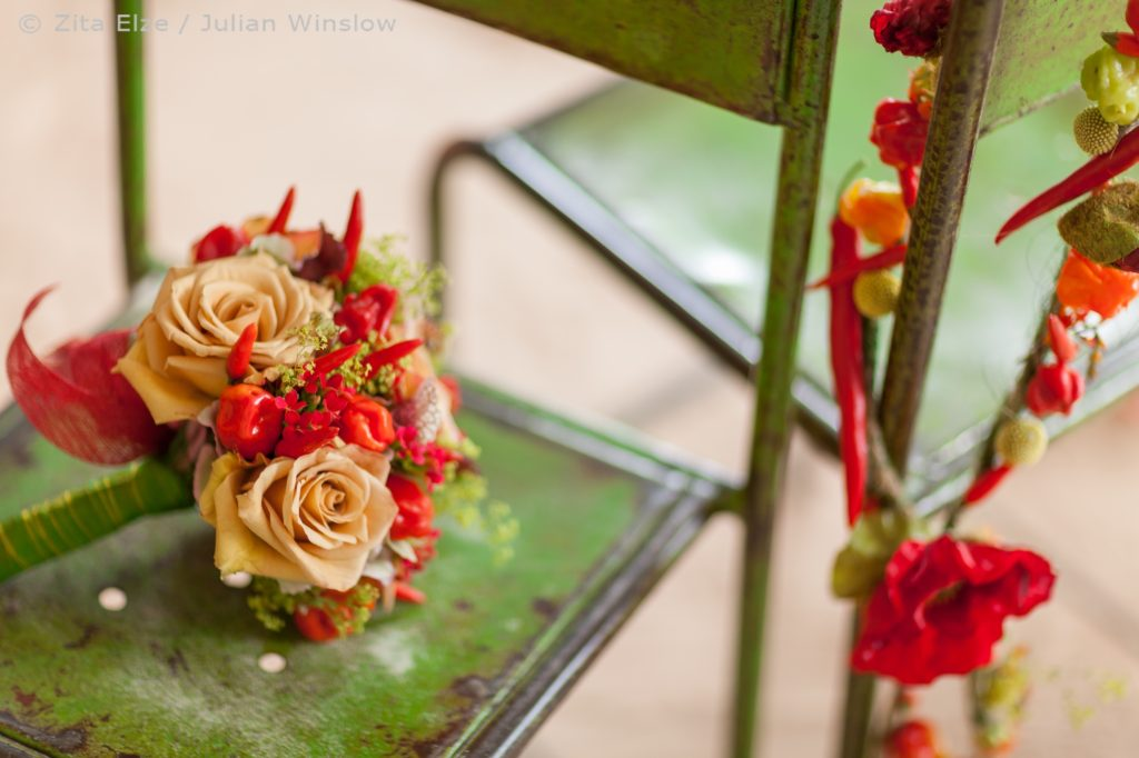 Zita Elze ZEDA Kim Gyongmi Tropical Wedding Flower Julian Winslow 2013