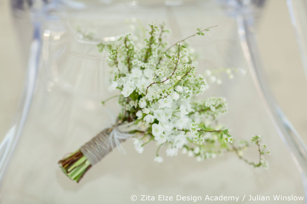 Zita Elze Design Academy Wedding Stories Bride's bouquet Photo:  Julian Winslow 7387_wm