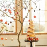Wedding Stories Advanced Wedding Design Master Class Cake by Elizabeth's Cake Emporium Reception flowers and fruit in Kew Gardens with Zita Elze Design Academy, Photography: Julian Winslow lp192_wm