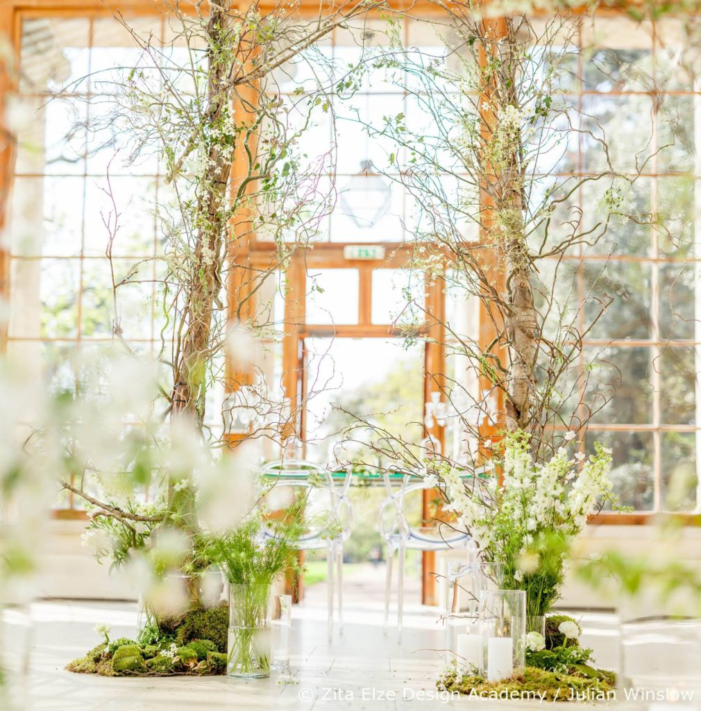 Zita Elze Design Academy Kew Gardens Advanced Wedding Design ceremony space photo: Julian Winslow LP-84_wm