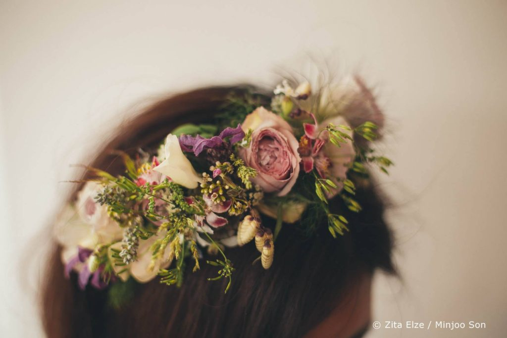 Zita Elze Flower Crown workshops British Flowers Week 2017 Photo: Minjoo Son 9672