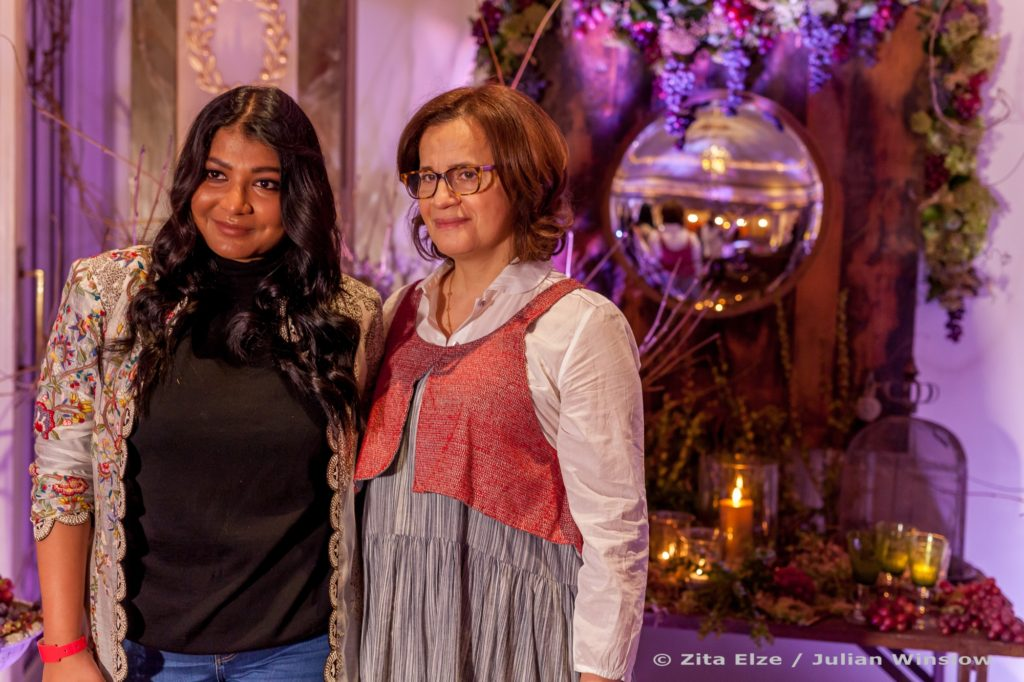 Aashni Shah and Zita Elze, Aashni Co 2017 at The Dorchester. Photography: Julian Winslow 5871 wm