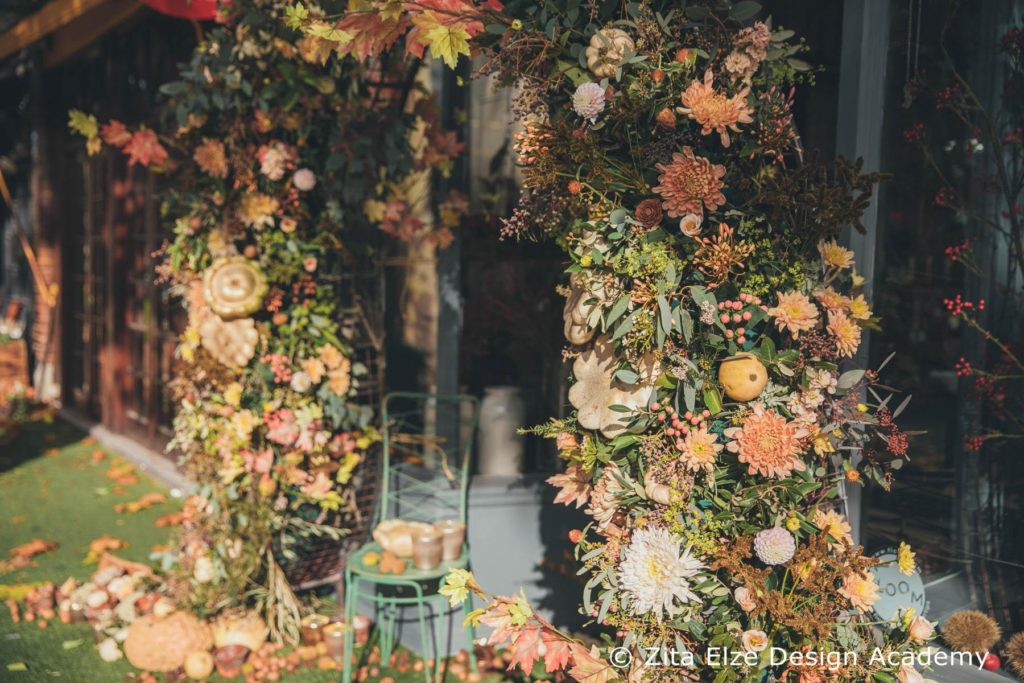 Zita Elze Design Academy Autumn Floral Arch photo: Minjoo Son Oct 2017 196_wm