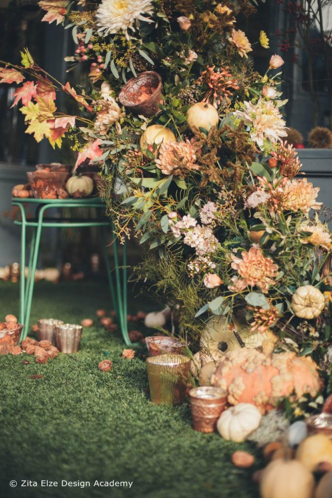 Zita Elze Design Academy Autumn Floral Arch photo: Minjoo Son Oct 2017 229_wm