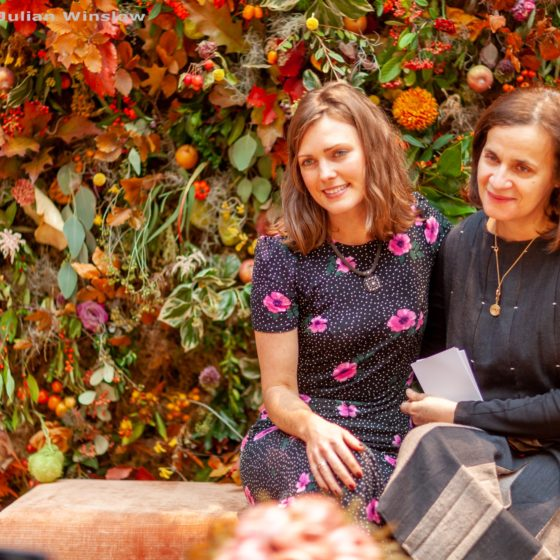 Lauren and Zita, Zita Elze Flowers RHS Urban Garden Show pic Julian Winslow L9073_wm