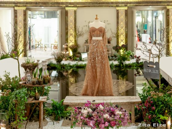 Zita Elze Aashni Wedding Show 2019 at the Dorchester, London - wedding flowers and interior design by Zita Elze, pic Julian Winslow LP-33a_wm
