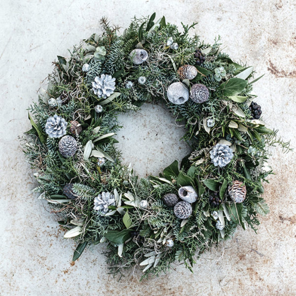 3_Grey Pine Wreath